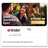Each code is valid till 12 December 2021. No extension for the same will be provided under any circumstances. Upgrade to Tinder Plus with premium features like: See who Likes You before you Like or Nope New Top Picks every day: your most swipe-worthy...