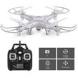 Syma Drône X5C - Drone avec Caméra - Drône d'entrainement - Photographie HD - Grande Résistance au Vent