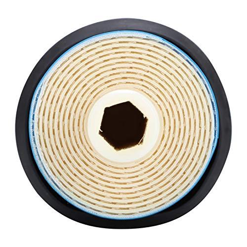Natruss Filtro de Sistema de Agua RO Resistente a la corrosión Filtro de Filtro purificador de Agua 50/75/100 GPD Resistente al envejecimiento Oficina para el hogar(2012-100G)