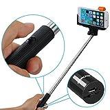 Mpow iSnap Pro–Bâton Extensible pour Selfie, Noir