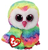 Ty Beanie Boos 6' Owen The owl, Perfect Plush
