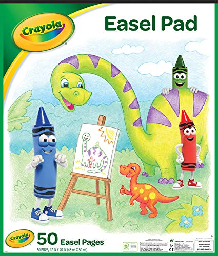 "Crayola Easel Pad, 17"" X 20"", Easel Supplies, 50 Sheets"