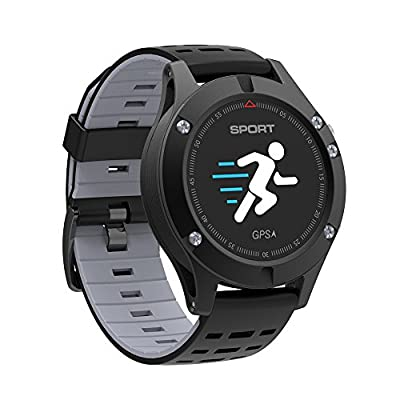 Bigaint F5 Bluetooth Wireless Waterproof GPS Smart Bracelet for iOS & Android Smartphone,Heart Rate and Sleep Monitor,Pressure Monitor Sport Tracker/Fitness Tracker