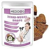 Medidog Zeggi Weggi 400g Premium Schutz Drops für Hunde, Kaltgepresst und Getreidefrei, mit...