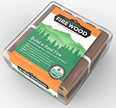 Green Mountain Firewood 8 Log Bundles – The Cleanest, Most Efficient, Most Advanced Fire Wood on Earth…