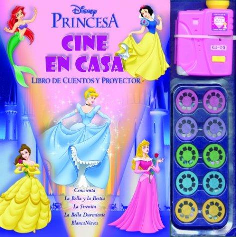 Princesas / Princesses: Cine En Casa. Libro De Cuentos Y Proyector / Home Theater. Story book and projector (Cine En Casa Disney)