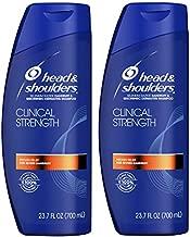 Head and Shoulders Shampoo, Anti Dandruff and Scalp Care, Clinical Strength Seborrheic Dermatitis Treatment, 23.7 fl oz, Twin Pack