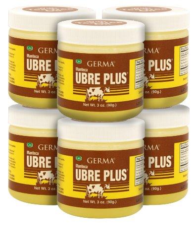 Germa Manteca Ubre Plus with Tea Tree Oil 3oz 6-Pack