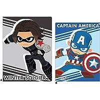 デルフィーノ ディズニーマーベル 6+1ファイル キャプテン・アメリカ&ウィンター・ソルジャー DZ-80403