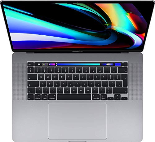 16-Inch Touch Bar Mac Space Grey 2.4ghz 8-Core i9 64GB 1TB SSD 5500M 8GB Deecies Limited Laptop Pro (Renewed)