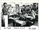 Historic Images - 1991 Press Photo Principal Ron Hoppes of Harold Oliver Intermediate Center