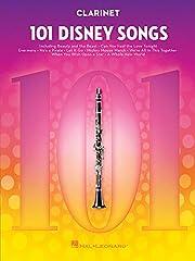 101 Disney Songs -For Clarinet