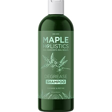 Degrease Shampoo for Oily Hair Care - Clarifying Shampoo for Oily Hair and Oily Scalp Care - Deep Cleansing Shampoo for Greasy Hair and Scalp Cleanser for Build Up with Natural Essential Oils for Hair
