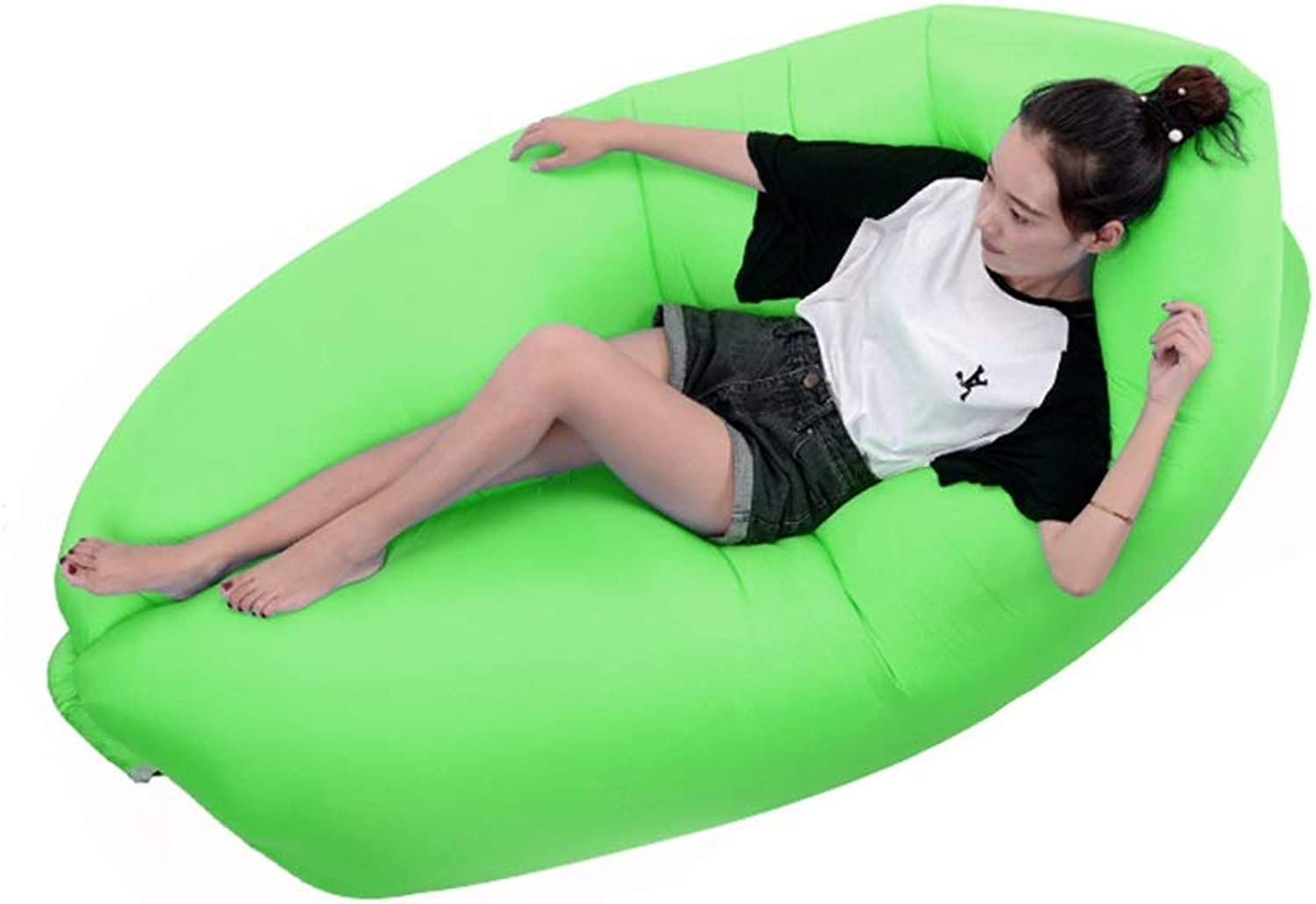Air Mattresses Inflatable Couch Inflatable Lounger Air Lounger Outdoor Lazy Portable Inflatable Sofa Recliner High LoadBearing Folding Indoor Inflatable Recliner