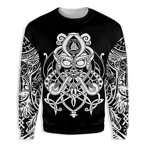 Viking Valkyrie Tattoo 3D All Over Print Hoodie,T-shirt, Zip Hoodie, Sweatshirt Unisex For Man And Woman