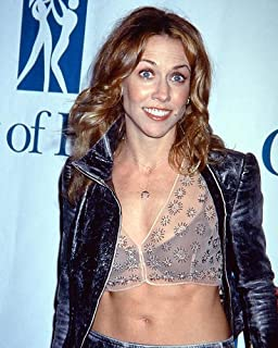 Sheryl Crow in Sexy Outfit Color 11x14 HD Aluminum Wall Art