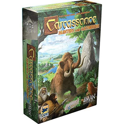 Carcassonne: Hunters & Gatherers - Prehistoric Version of The Bestselling, Strategic Tile Laying Game