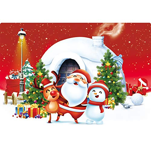 Puzzle 500 piece, Difficult Puzzle Art, Jigsaw Puzzles Christmas Santa Claus For Adults, Pieces Fit Together Perfectly,Puzzle For Funny Family Games,Home Decoration( Merry Christmas,20×15 Inch)