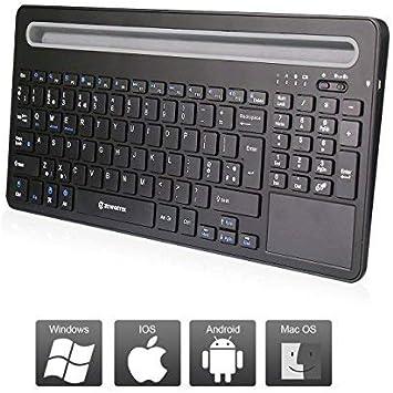 Zoweetek - Teclado inalámbrico con Touchpad y teclado ...