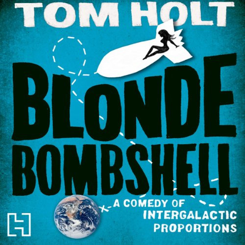 Blonde Bombshell audiobook cover art