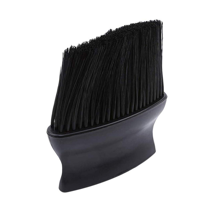 それに応じてカテナダム1st market 丈夫な理髪ブラシ首フェイスダスターブラシサロンヘアークリーニング散髪ヘアブラシ