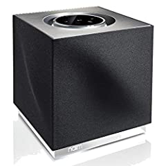 300 Watts of Power, Multi-Room Capability Streams 24-Bit/192kHz Plays Bluetooth aptX, TIDAL, Spotify, Apple AirPlay, More Measuring a petite 8.3 x 8.6 x 8.3 inches