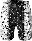 Matière : 100 % polyester, matières douces, légères et confortables. Le maillot de bain pour garçons, en tissu à séchage rapide et respirant, fermeture à cordon. Nous proposons 4 tailles (M/L/Xl/XXl) pour votre choix. Si vous aimez les styles amples,...