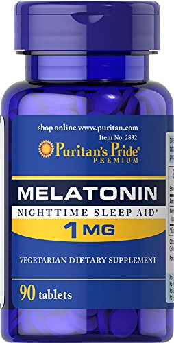 Puritan's Pride Melatonin 1 mg-90 Tablets