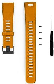 Razab1 Fashion Silicone Sports Watch Band Replacement Strap Bracelet + Tool Compatible For Garmin Vivosmart HR