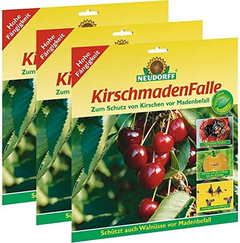 3 x 7 (21 Stk) Neudorff KirschmadenFalle Insektizidfrei
