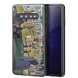 Berkin Arts Georges Seurat für Samsung Galaxy S10 Hülle/Kunst Handyhülle/Giclée UV Druck auf der Handyabdeckung(A Sonntag on La Grande Jatte)