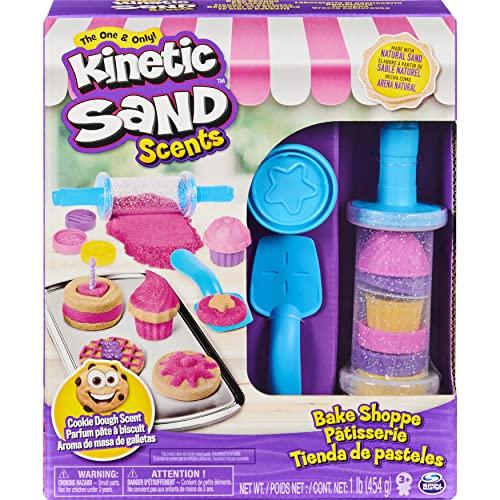 Kinetic Sand Bäckerei-Spielset mit Duftsand, 454g für kreatives Indoor-Sandspiel