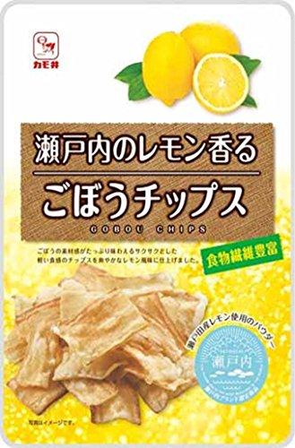 カモ井 瀬戸内レモンごぼうチップス小袋 32g×5袋