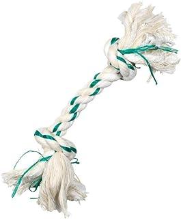 Booda Fresh N Floss 2 Knot Bone Rope Dog Toy, X-Large, Spearmint