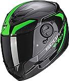 Scorpion EXO-490 SUPERNOVA Black-Green XL