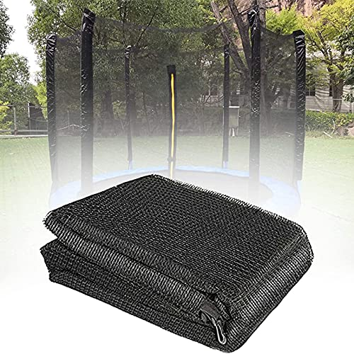 HJCC Redes De Seguridad De Repuesto para Cama Elástica con Valla, Red De Protección De Seguridad Trampolín, para El Jardín De La Red De Trampolín,366 cm 8 Poles