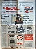 NOUVELLE REPUBLIQUE (LA) [No 12963] du 29/05/1987 - DE PARIS A TOKYO / TERRORISME - CONGRES PEEP A BLOIS / MONORY - INVESTIR DANS L'ECOLE - INCOHERENCES PAR BONNET - LES SPORTS - TENNIS AVEC NOAH ET BENHABILES - RUGBY AVEC FRANCE ET ROUMANIE - NUCCI ET PASQUA / LE PS REPLIQUE AU RPR -