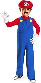 Nintendo Super Mario Brothers Mario Boys Toddler Costume, Medium/3T-4T