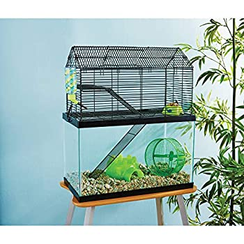 Petco Brand - You & Me Small Animal High Rise Tank Topper 19.25  L X 9.75  W X 11.5  H 19.25 in