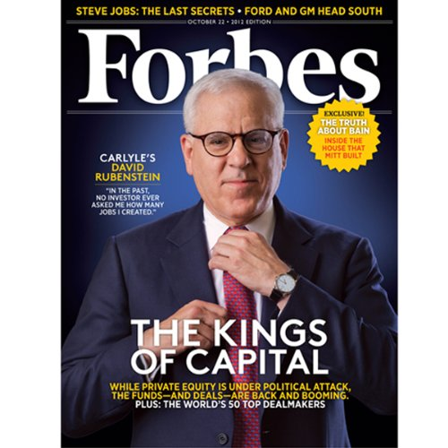 Forbes, October 8, 2012 audiobook cover art