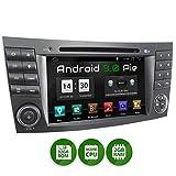 XOMAX XM-08ZA Autoradio passend für Mercedes W211 W219 W463 mit Android 9.0, 4Core 2GB ROM+32GB RAM, GPS Navi, DVD, CD I Support: WiFi 4G, DAB+, OBD2 I Bluetooth, 7Zoll / 18cm Touchscreen,...