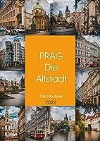 Prag - Die Altstadt (Wandkalender 2022 DIN A3 hoch): Wunderschoene Bilder der Hauptstadt Tschechiens. (Monatskalender, 14 Seiten )