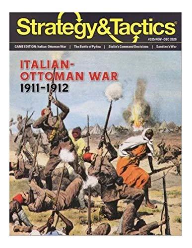 Decision Games DG: Strategy & Tactics Magazine #325, with Italian-Ottoman War, 1911-12, Boardgame