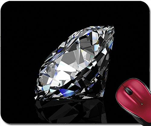 Liili Mousepad Image ID: 15073772 Diamond Jewel on Black Background