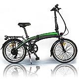 Eléctrico Bicicleta Bike E-Bike Pedelec, 350W 36V 10AH/7.5AH Velocidad máxima 25 km/h 3 Modos de conducción,Resistencia 50-55 kilómetros, Asiento Ajustable, con Pedales,Bici Electricas Adulto,