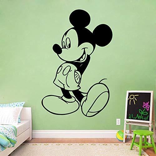 Stickers Muraux Autocollant Mickey Mouse Fans Intérieur Pépinière Décor De Bande Dessinée Mickey Mouse Babys Room Sticker