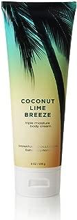Bath & Body Works Coconut Lime Breeze 8.0 oz Triple Moisture Body Cream