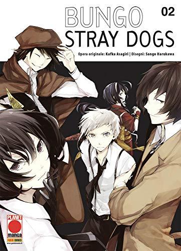 Bungo Stray Dogs N° 2 - Ristampa - Planet Manga - Panini Comics - ITALIANO #MYCOMICS