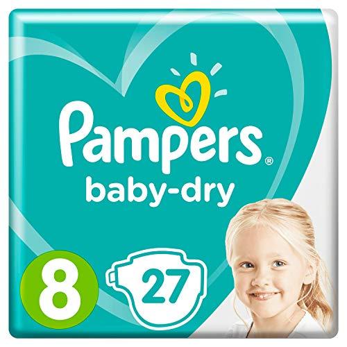 PAMPERS Baby Dry Gr��e 8, 17+ kg, 27 Lagen