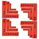 Odowalker 直角固定 直角定規 L型 コーナークランプ 直角 12点セット 3/4/6寸 木工 クランプ 木工ハンドツール 圧着 溶接 切断 作業DIY用